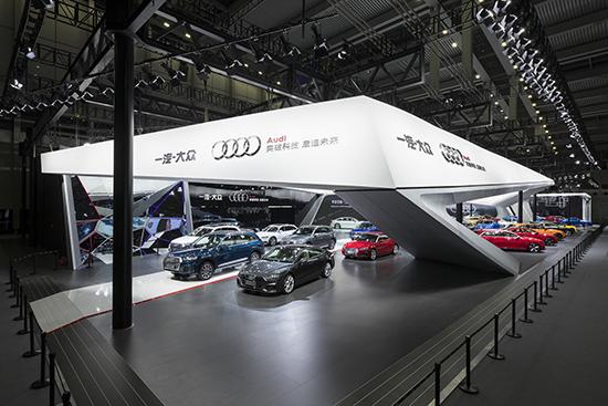 1. 一汽-大众奥迪携多款重磅车型亮相2019深港澳车展,全方位展现强劲产品实力