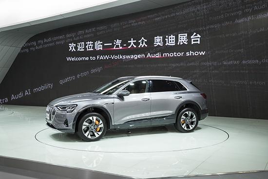 2. 奥迪首款纯电动SUV——奥迪e-tron,全面展示奥迪在电动化领域的最新科技成果
