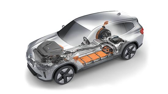 08.创新纯电动BMW iX3电力驱动系统